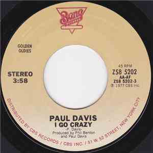 Paul Davis  - I Go Crazy flac album