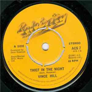 Vince Hill - Thief In The Night flac album