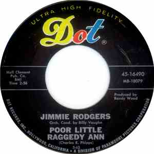 Jimmie Rodgers  - Poor Little Raggedy Ann / I'm Gonna Be The Winner flac album