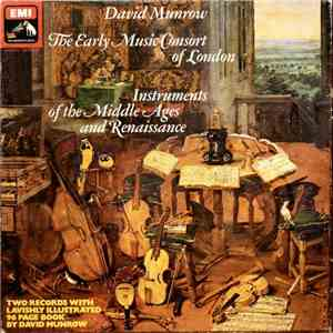 David Munrow • The Early Music Consort Of London - Instruments Of The Middle Ages And Renaissance flac album