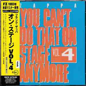Frank Zappa - You Can't Do That On Stage Anymore Vol. 4 flac album