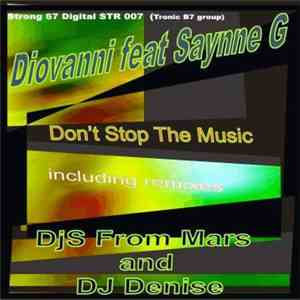 Diovanni Feat. Saynne G - Don't Stop The Music flac album