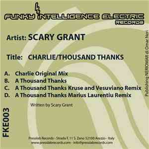 Scary Grant - Charlie / A Thousand Thanks flac album