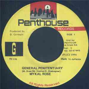 Mykal Rose - General Penitentiary flac album