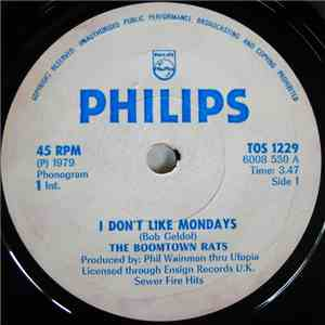 The Boomtown Rats - I Don't Like Mondays flac album