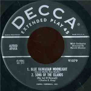 Alfred Apaka - Blue Hawaiian Moonlight flac album