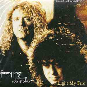 Jimmy Page & Robert Plant - Light My Fire flac album