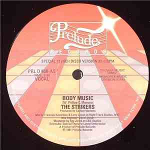 The Strikers - Body Music flac album