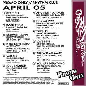 Various - Promo Only Rhythm Club: April 05 flac album