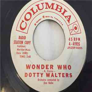 Dotty Walters - Wonder Who / Maybe Baby Maybe flac album