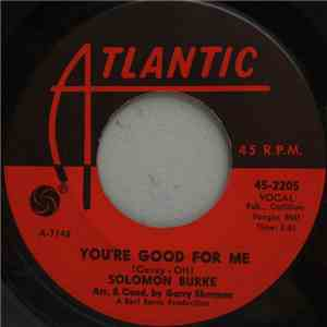 Solomon Burke - You're Good For Me flac album