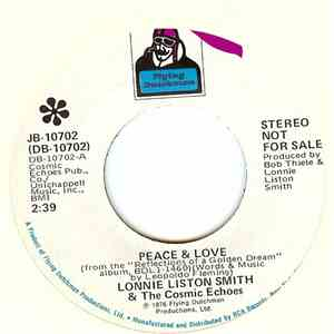Lonnie Liston Smith And The Cosmic Echoes - Peace & Love flac album