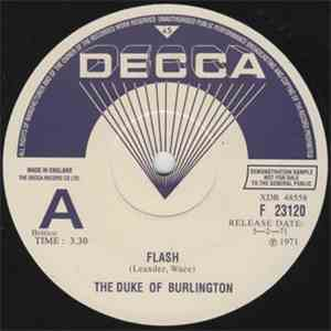 The Duke Of Burlington - Flash flac album