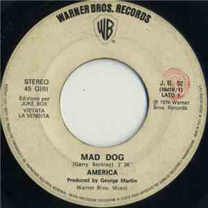 America  / John Allan Et Les Africa Queens - Mad Dog / Good Bye Mama flac album