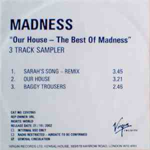 "Madness - Our House - ""The Best of Madness"" flac album"