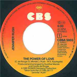 Jennifer Rush - The Power Of Love flac album