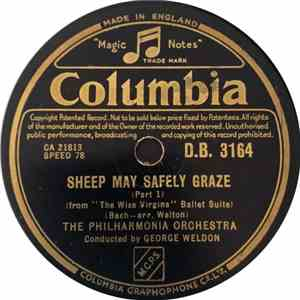 Philharmonia Orchestra - Sheep May Safely Graze flac album