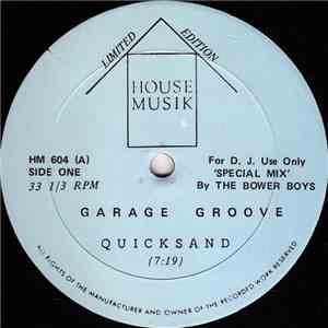 Garage Groove - Quicksand flac album