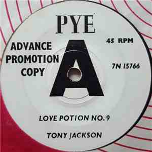 Tony Jackson With The Vibrations - Love Potion No. 9 / Fortune Teller flac album