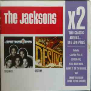 The Jacksons - Triumph / Destiny flac album